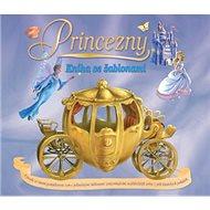 Princezny Kniha se šablonami - Kniha