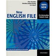 New English file Pre-intermediate Studenťs Book s anglicko-českým slovníčkem - Kniha