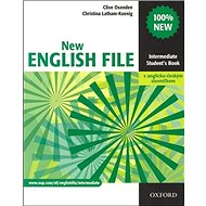 New English file Intermediate Student´s book + Czech wordlist - Kniha