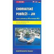 Chorvatské pobřeží - Jih: 1:250.000 - Kniha