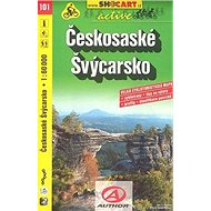 Českosaské Švýcarsko 1:60 000: 101 - Kniha
