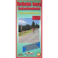 Orlické hory, Královehradecko: velká cykloturistická mapa - Kniha