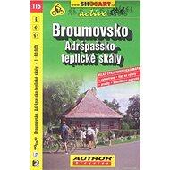 Broumovsko Adršpašsko-teplické skály 1:60 000: 115 - Kniha