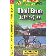 Okolí Brna Ždánický les 1:60 000: 167 - Kniha