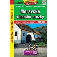 Moravské vinařské stezky 1:110 000 - Kniha