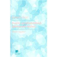 Kvalita sociálněvědních výběrových šetření v České republice - Kniha