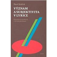 Význam a subjektivita v lyrice: Kognitivní struktury v lyrické představě - Kniha