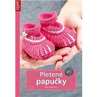 Pletené papučky: SK6658 - pre bábätká - Kniha