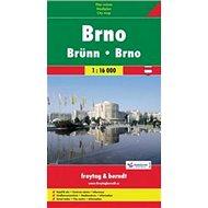 Brno plán 1:16 000 - Kniha
