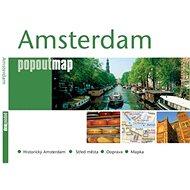 Amsterdam: Kapesní rozkládací mapa - Kniha