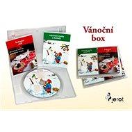 Vánoční box: Vánoční stůl, Vánoční zvyky, CD - Kniha
