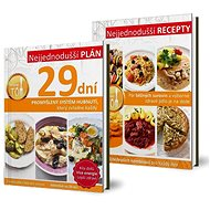 Kuchařky Nejjednodušší plán 29 dní a Nejjednodušší recepty - Kniha