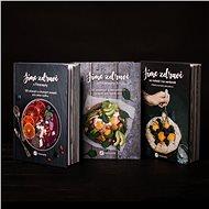 Balíček tří kuchařek Jíme zdravě za výhodnou cenu - Kniha