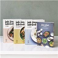 Balíček tří kuchařek Jak jíme zdravě a Jíme zdravě  ze spíže za výhodnou cenu