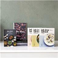Balíček všech 8 kuchařek Jak jíme zdravě a Jíme zdravě za výhodnou cenu