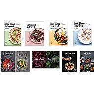 Balíček všech 9 kuchařek Jak jíme zdravě a Jíme zdravě za výhodnou cenu - Kniha