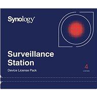 Synology NAS 4 licence pro další IP kamery do Surveillance Station - Software
