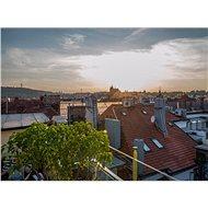 Střešní vířivka s výhledem na Pražský hrad - Tištěný voucher