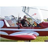 Pilotem letadla na zkoušku - Tištěný voucher