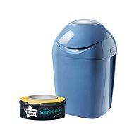 Tommee Tippee Sangenic Tec Nappy Disposal Bin - Blue - Nappy Bin