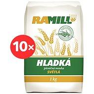 RAMIL Mouka pšeničná hladká 10 × 1 kg - Mouka