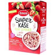 EMCO Super Kaše Chia s jahodami 14 × (3 × 55 g) - Müsli