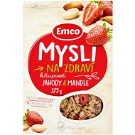EMCO Mysli jahody/mandle 14 × 375 g - Müsli