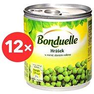 BONDUELLE Hrášek jemný 12 × 212 ml - Sterilovaná zelenina