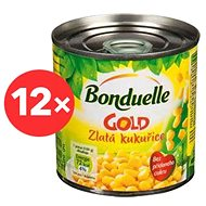 BONDUELLE Golden Corn 12× 212ml - Canned Vegetable