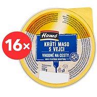 HAMÉ Krůtí maso s vejci 16 × 120 g - Konzerva