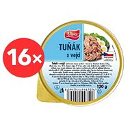 VIVA Tuna with Eggs 16× 120g - Can