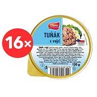 VIVA Tuňák s vejci 16 × 120 g