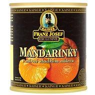 FRANZ JOSEF KAISER Mandarinky v mírně sladkém nálevu 314 ml - Konzerva