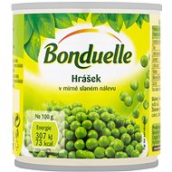 BONDUELLE Peas in Slightly Salty Brine 200g - Canned Vegetable
