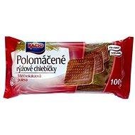 RACIO Chlebíčky rýžové mléčno-kakaové 100 g - Knäckebrot