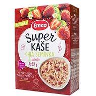EMCO Super Kaše Chia semínka a jahody 3 × 55 g - Müsli