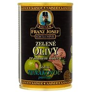 FRANZ JOSEF KAISER Green Olives Stuffed with Tuna Paste  300g - Canned Vegetable