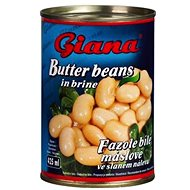 GIANA White Butter Beans in Brine 425ml - Canned Vegetable