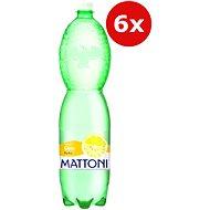 Mattoni citron 6x1,5l PET - Ochucená voda