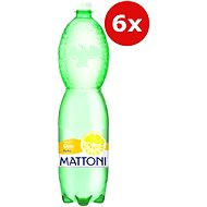 MATTONI Citron 6 × 1,5 l - Ochucená voda