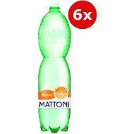 MATTONI Pomeranč 6 × 1,5 l - Ochucená voda