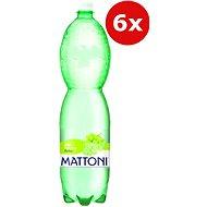 MATTONI Bílé hrozny 6 × 1,5 l - Ochucená voda