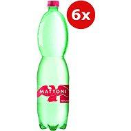 MATTONI Sparkling 6× 1.5l - Mineral Water