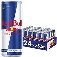 RED BULL Energetický nápoj 24 × 250 ml - Energetický nápoj