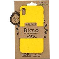Forever Bioio pro iPhone XS Max žlutý - Kryt na mobil