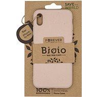 Forever Bioio pro iPhone XS Max růžový - Kryt na mobil