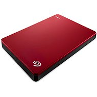 Seagate BackUp Plus Slim Portable 1TB červený