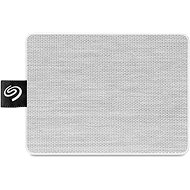 Seagate One Touch SSD 1000GB, bílý - Externí disk