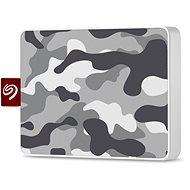 Seagate One Touch SSD 500GB, šedý/bílý - Externí disk