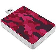 Seagate One Touch SSD 500GB, červený - Externí disk